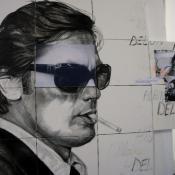 Alain Delon - Puzzle Le Clan